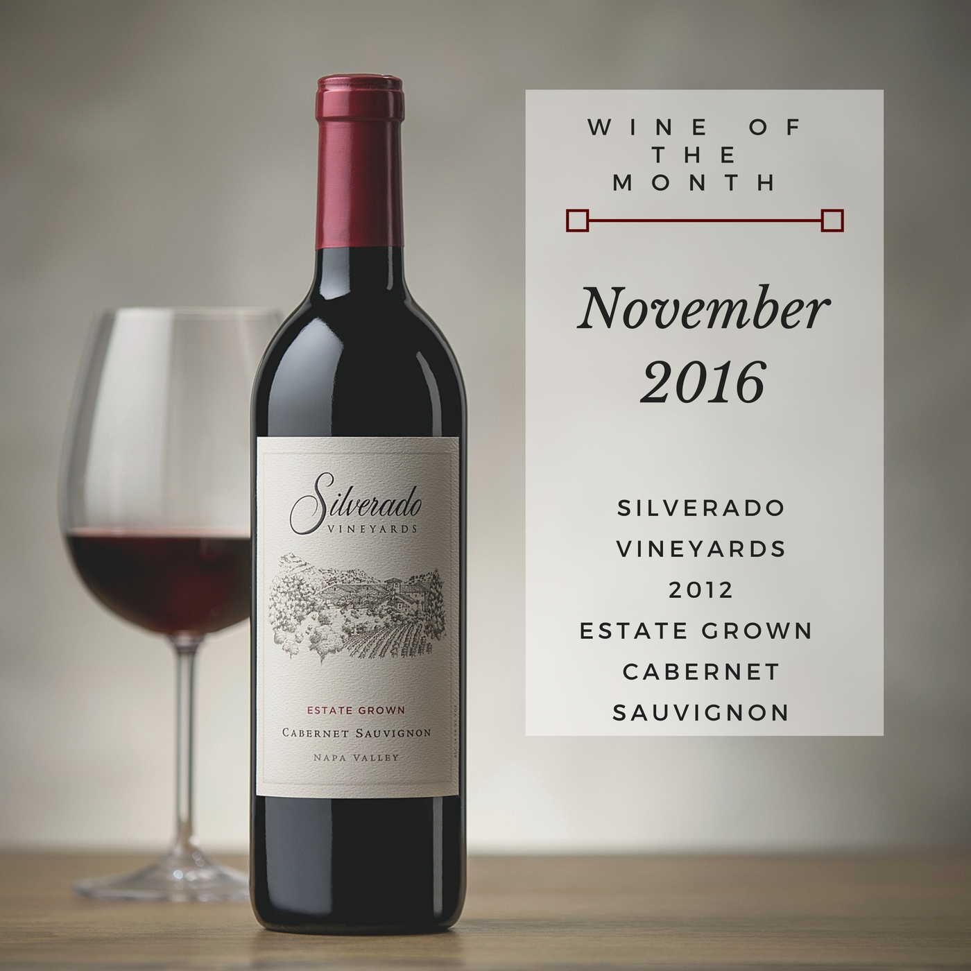 Silverado 2012 Estate Cabernet