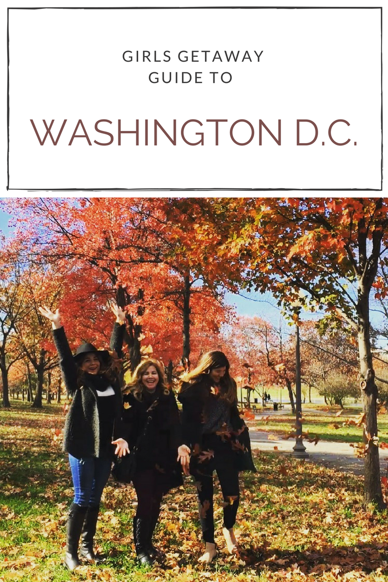Girls getaway itinerary to washington dc the leisureist for Washington dc romantic weekend getaways